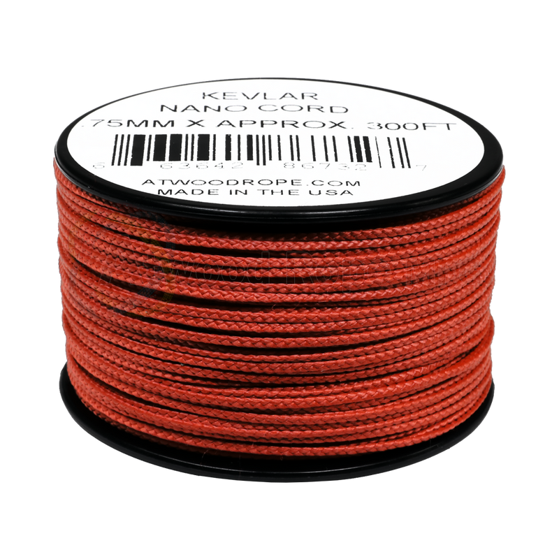 .75mm Nano Cord Kevlar - Red
