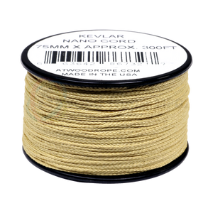 .75mm Nano Cord Kevlar - Yellow