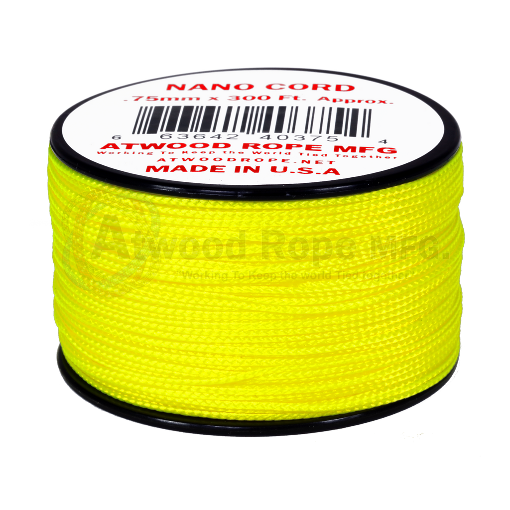 .75mm Nano Cord - Neon Yellow