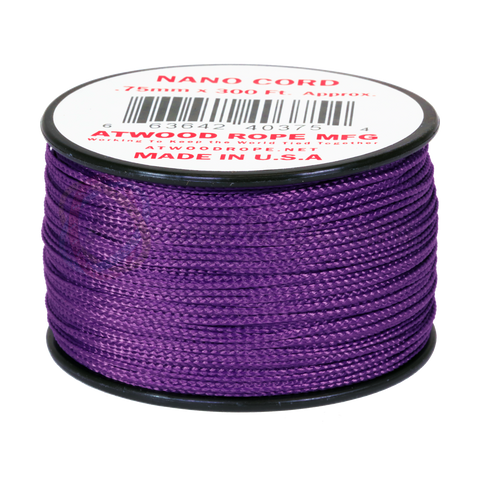 .75mm Nano Cord - Purple