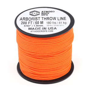 Arborist Throw Line - Neon Orange