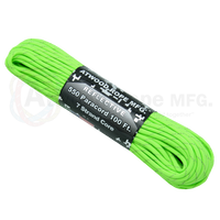 550 Paracord Reflective - Neon Green