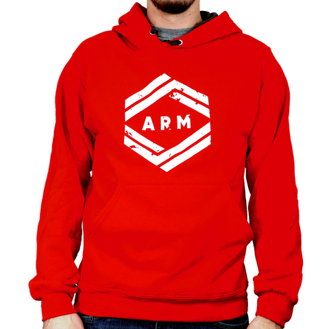 ARM Sweat Shirts - Red