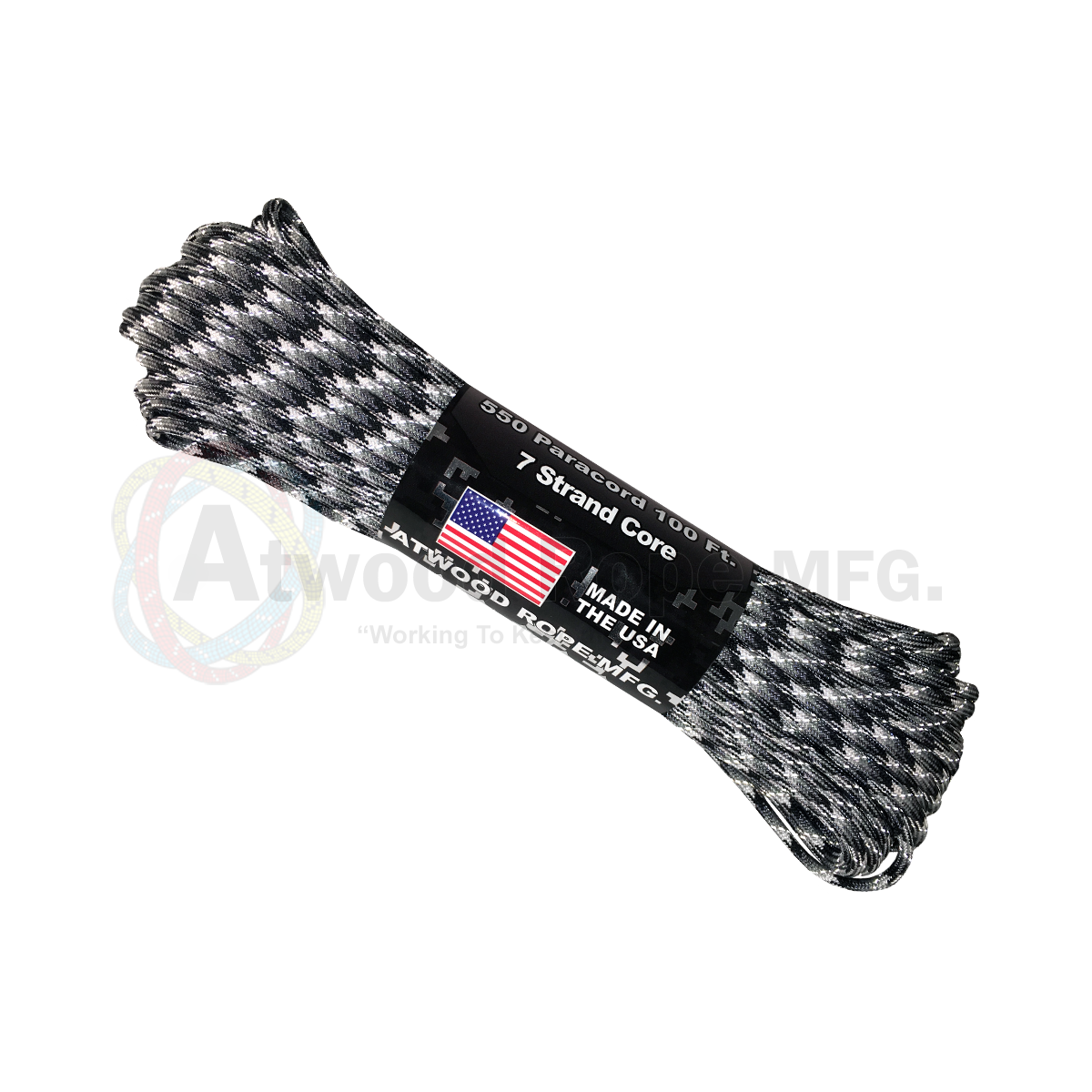 550 Paracord Reflective - Urban Camo