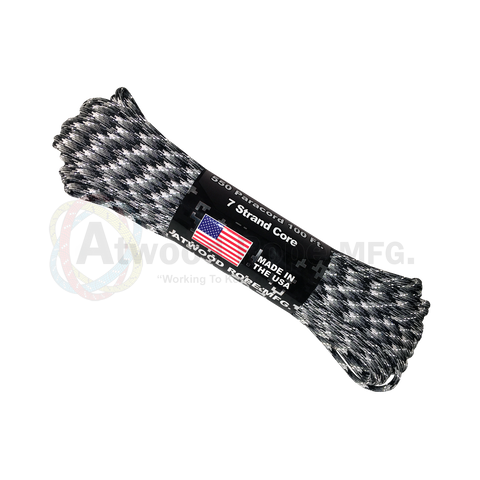 550 x 25ft / 50ft / 100ft Paracord Reflective Urban Camo