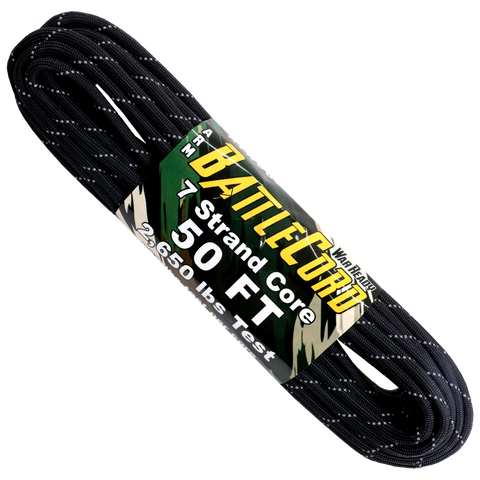 5.6mm Battle Cord Reflective - Black