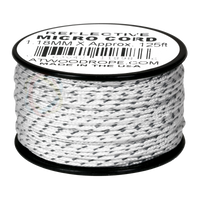 1.18mm Micro Cord Reflective - White