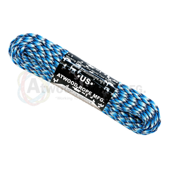 550 Paracord Reflective - Blue Snake