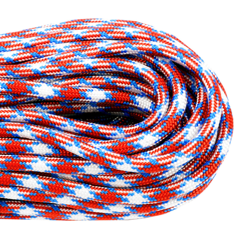 550 Paracord - Red White & Blue