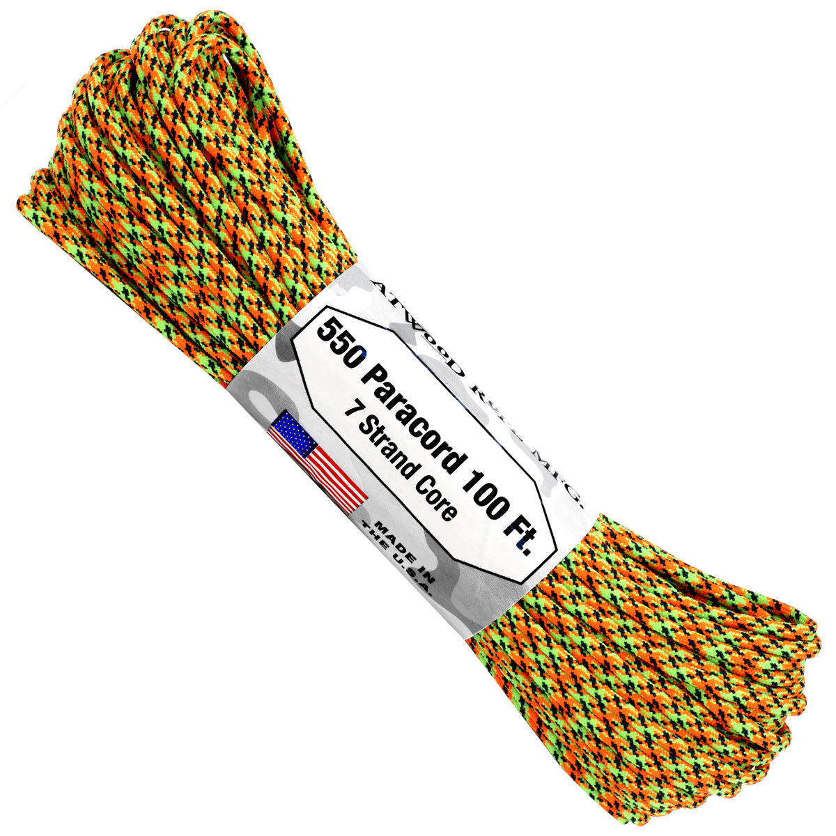 550 x 100ft Paracord Spaz
