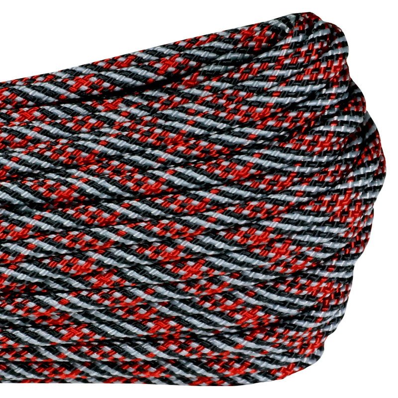 550 Paracord - Thin Red Line