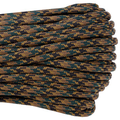 550 x 100ft Paracord - Tiger Stripe Camo