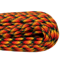 550 x 100ft Paracord - Wild Fire