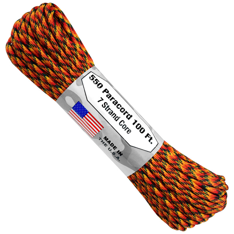 550 Paracord - Wild Fire