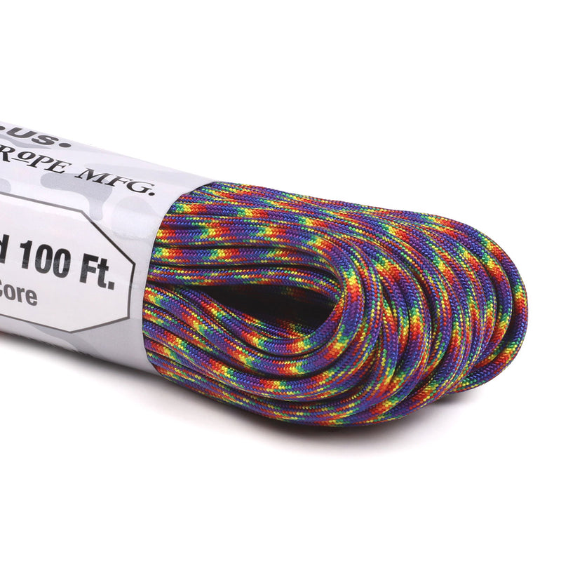 550 Paracord - Dark Rainbow