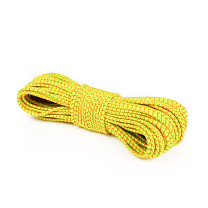 "1/8"" Bungee Shock Cord - Neon Yellow w/ Neon Tracer"