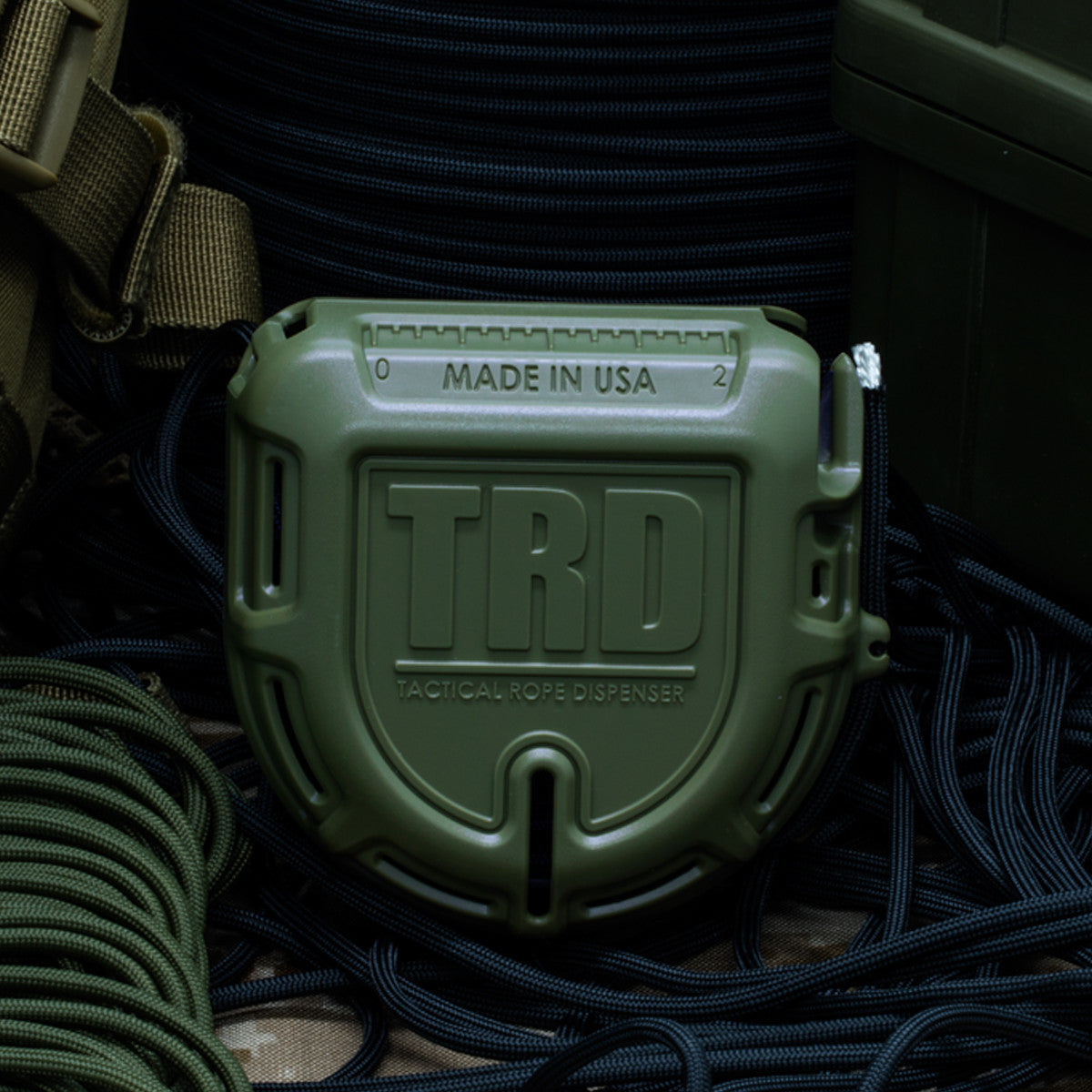 TRD - Tactical Rope Dispenser - OD