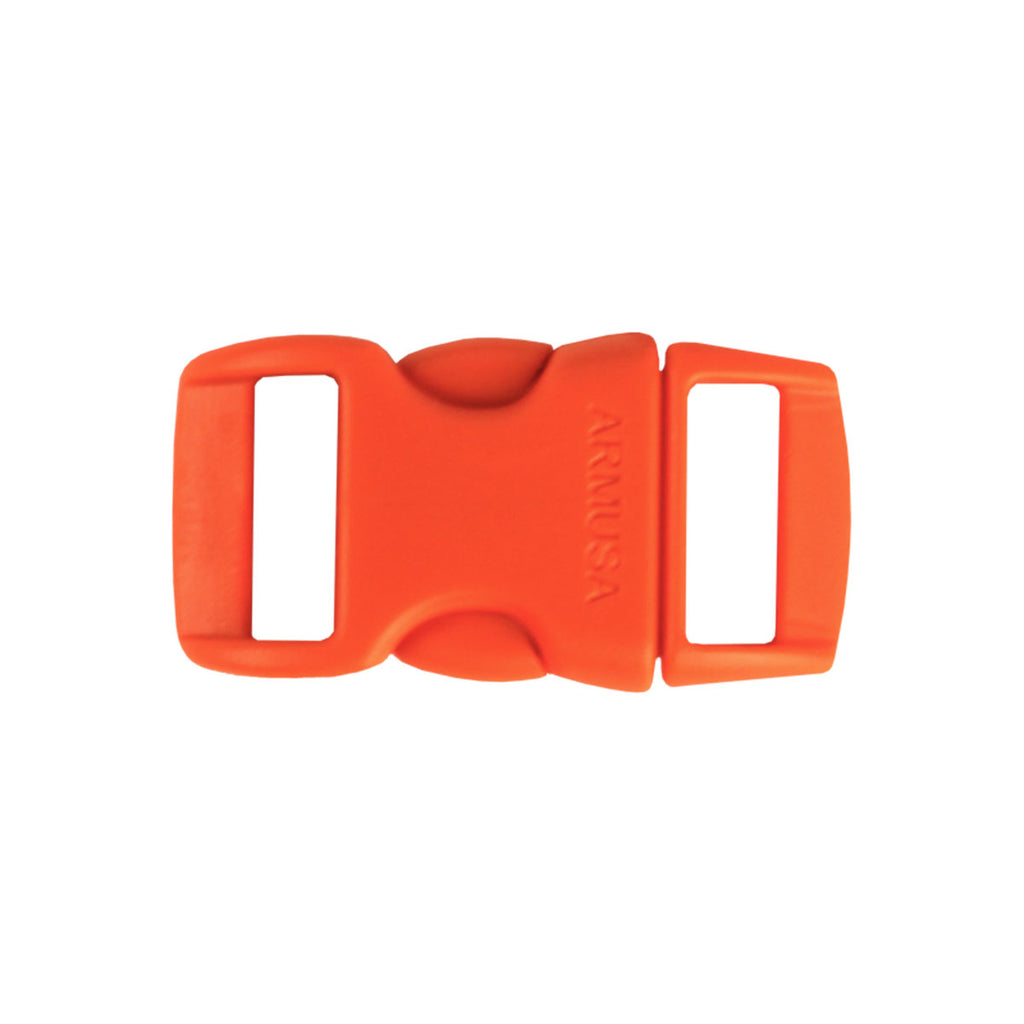 Paracord Buckles - Neon Orange