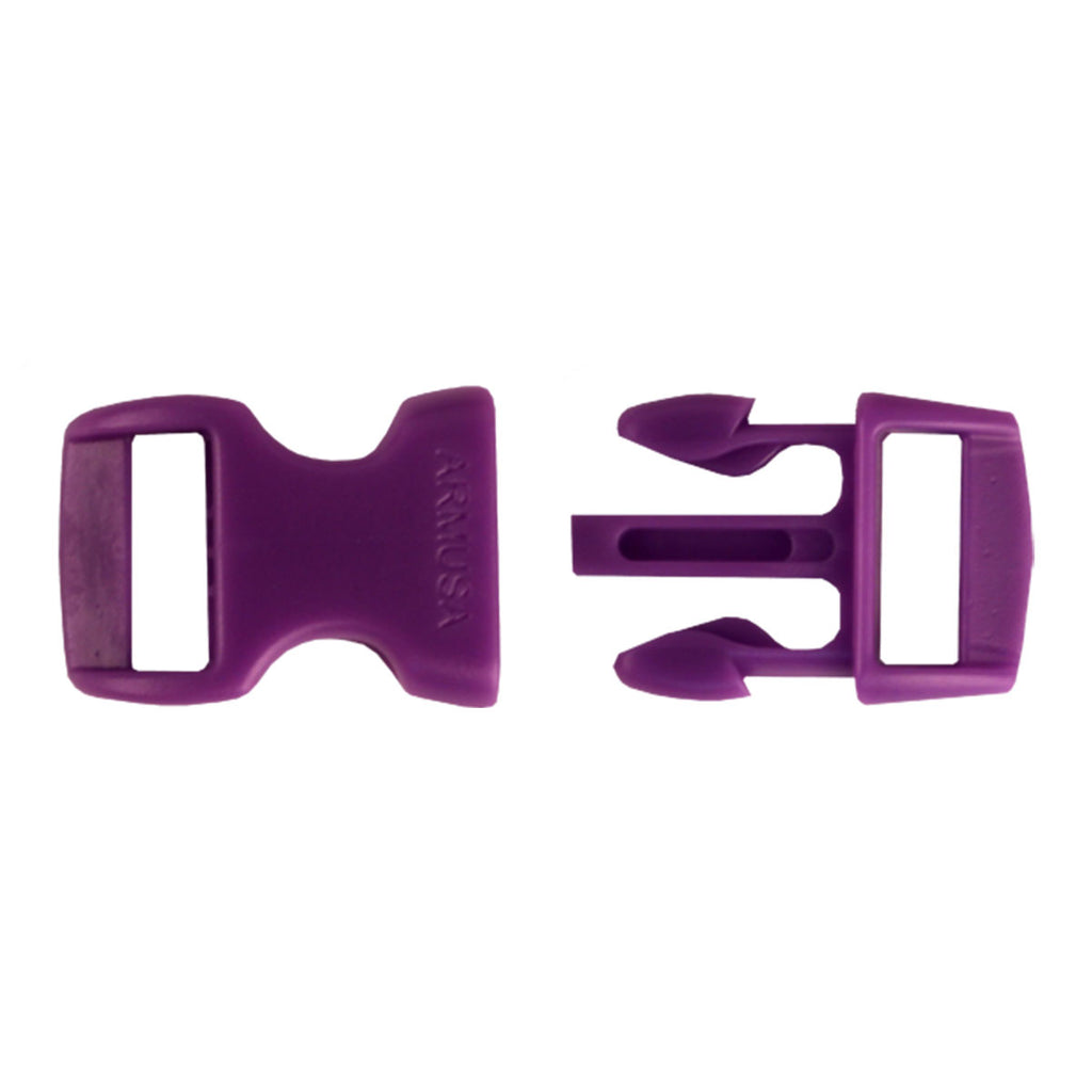 Paracord Buckles - Purple