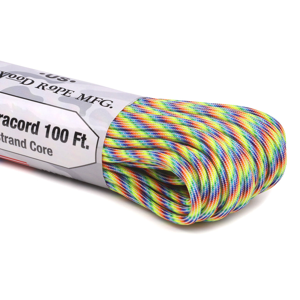 550 Paracord - Rainbow Road