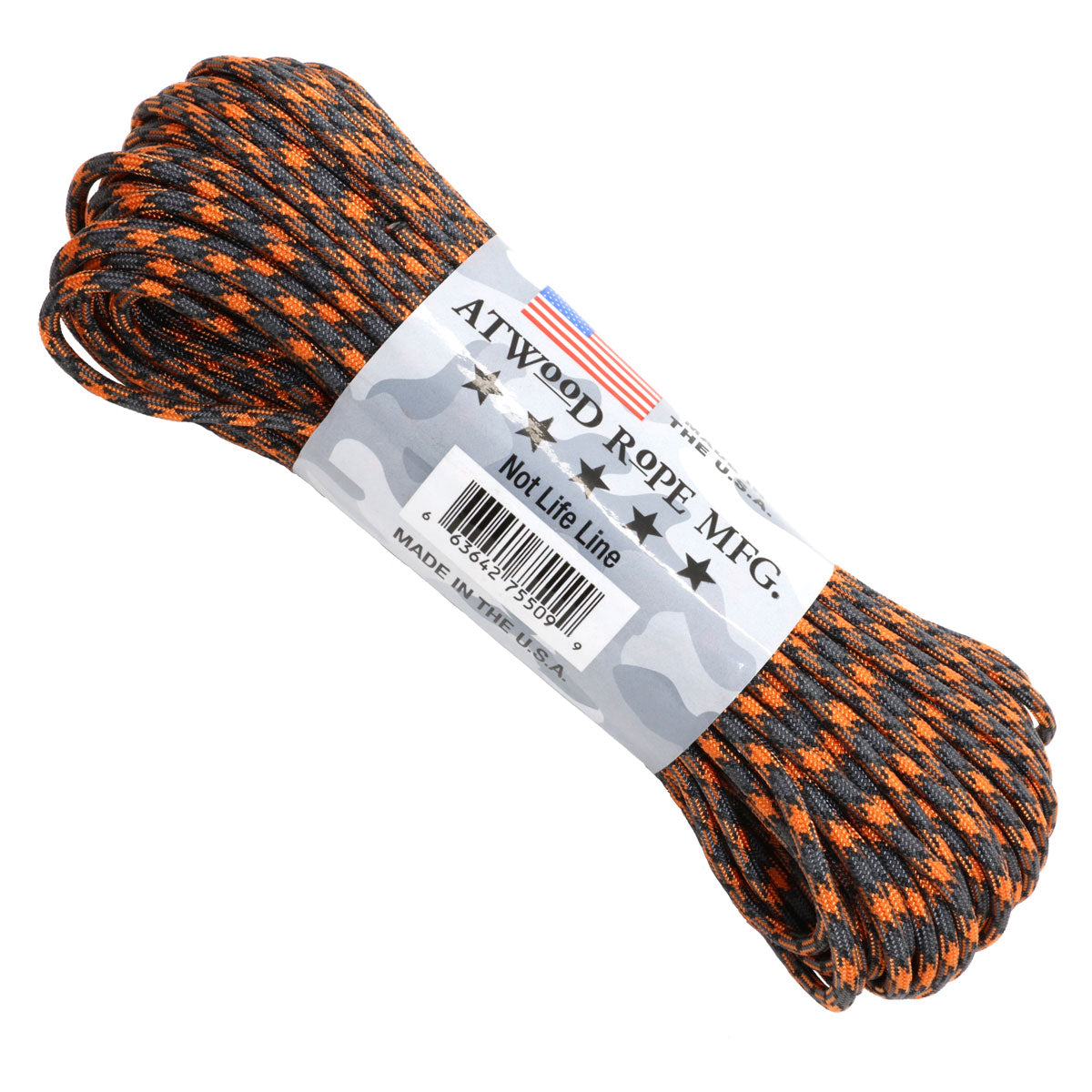 550 x 100ft Paracord Rust