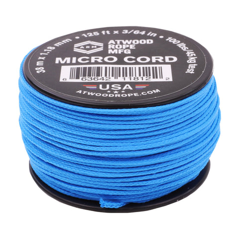 1.18mm Micro Cord - VooDoo Blue