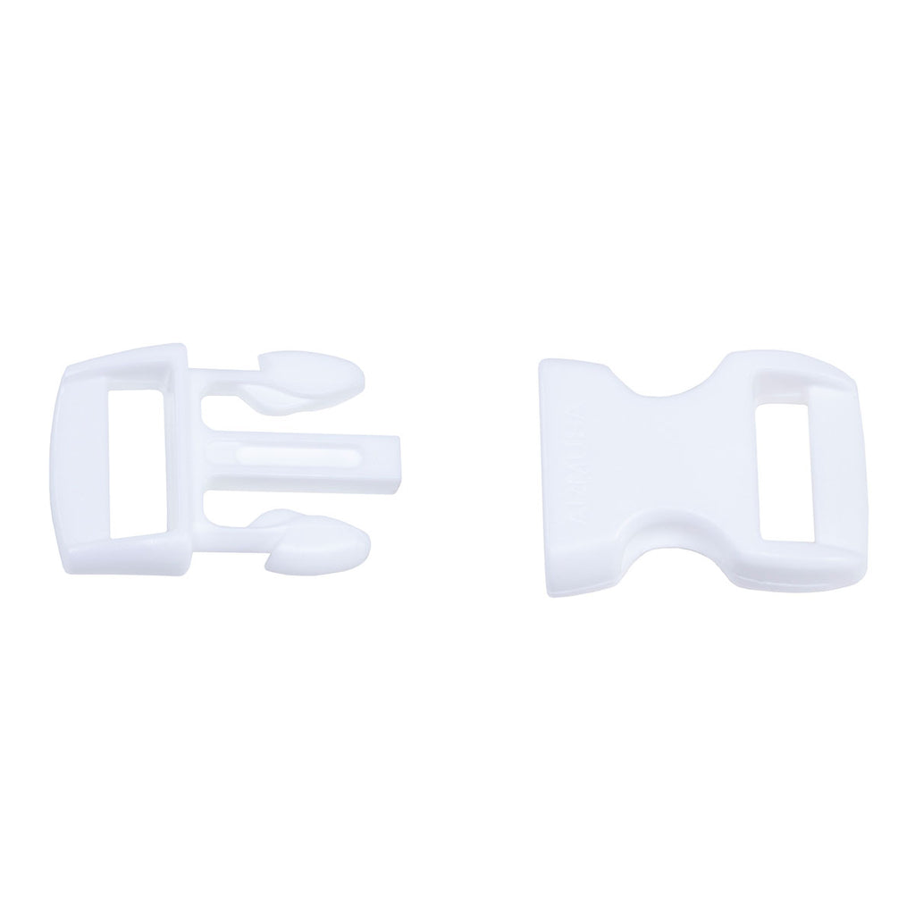 Paracord Buckles - White