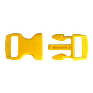 Paracord Buckles - Yellow