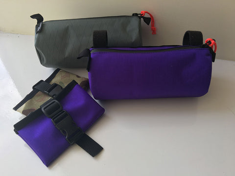 Bar Bag + Road Roll Combo