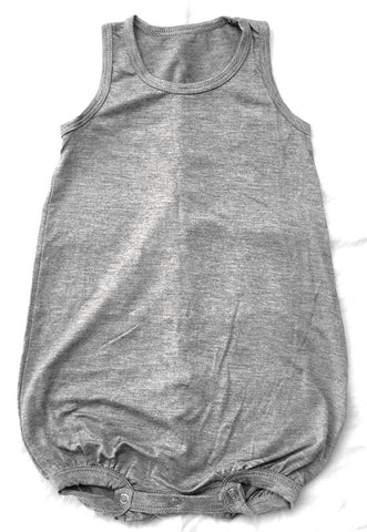 Bubble Onesie - Grey
