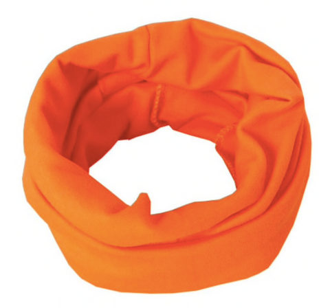 Cotton Circle Scarf - Orange