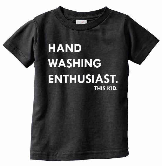 Hand Washing Enthusiast Tee