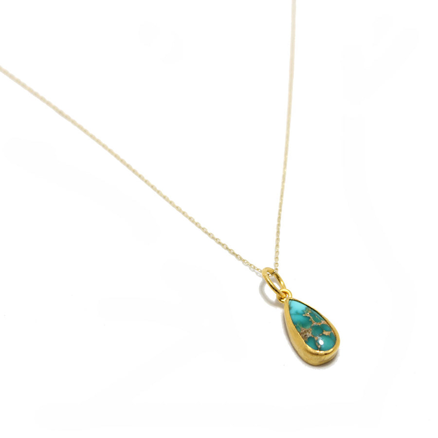 24k Persian Turquoise Necklace