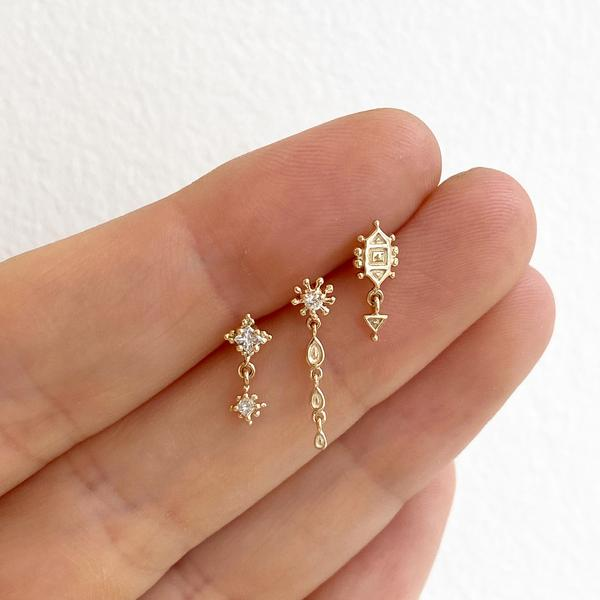 Metier Dala Droplet Earrings