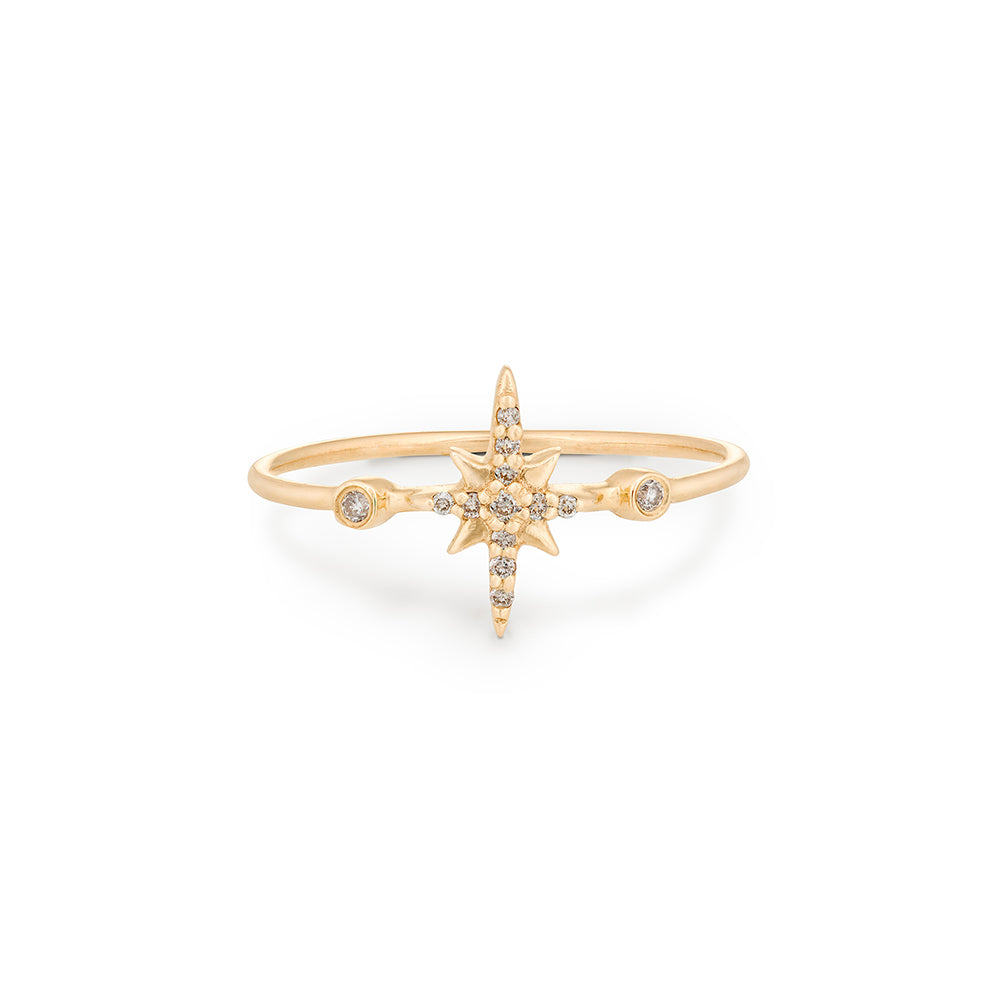 Celine Daoust North Star Diamond Ring