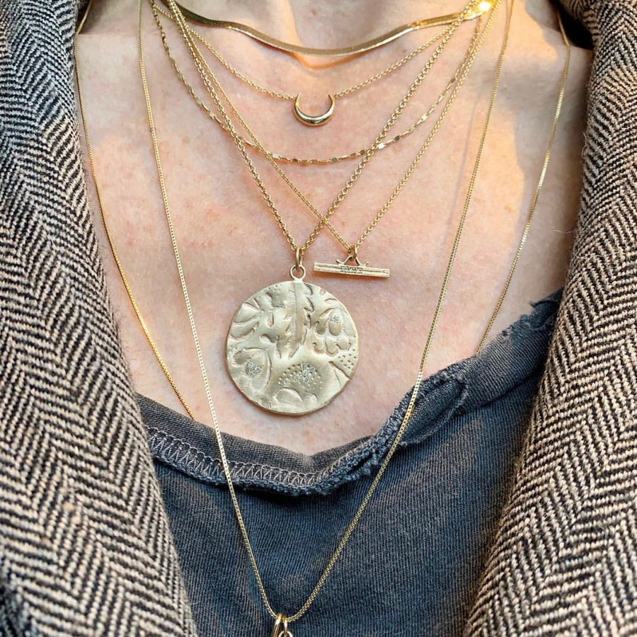 Page Sargisson 10k Sommer Pendant Necklace