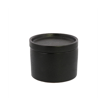Ceramic Black Canister