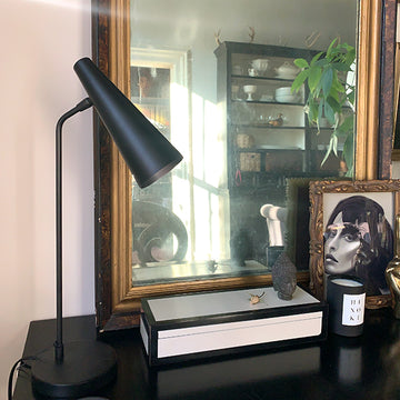 Precise Black Desk Lamp