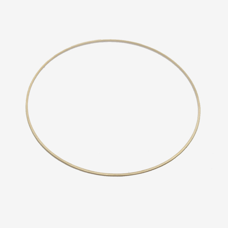 Carla Caruso 14k Gold Dainty Bangle