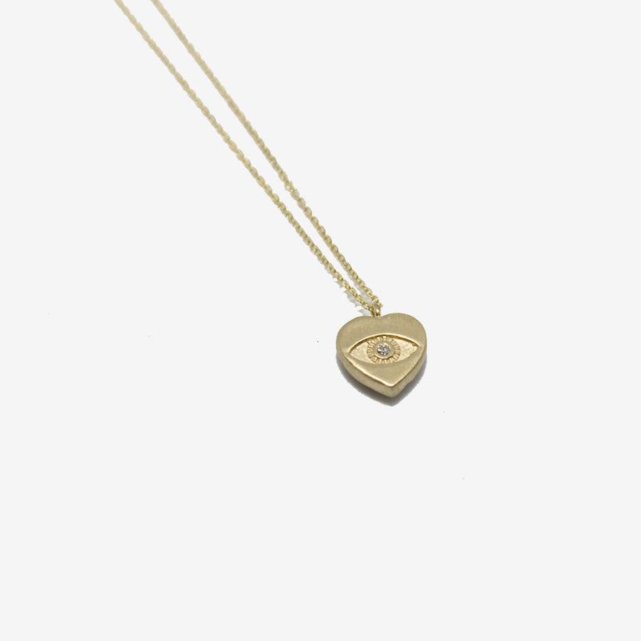 Darśana 14k Sweetheart Necklace