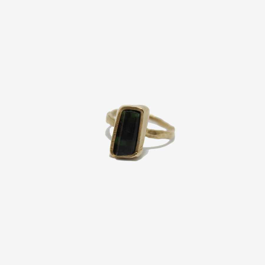 Emilie Shapiro Green Tourmaline Ring