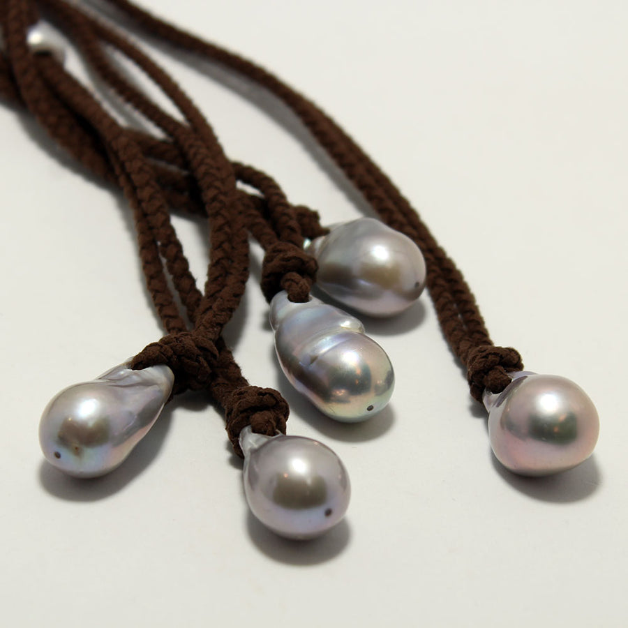 Fait Main Baroque Pearl Necklace
