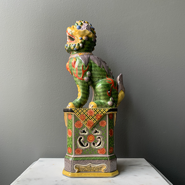 Pair of Foo Dog Statues