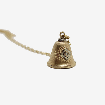 Franny E 14k Gold The Bells We Heard in Paris Necklace