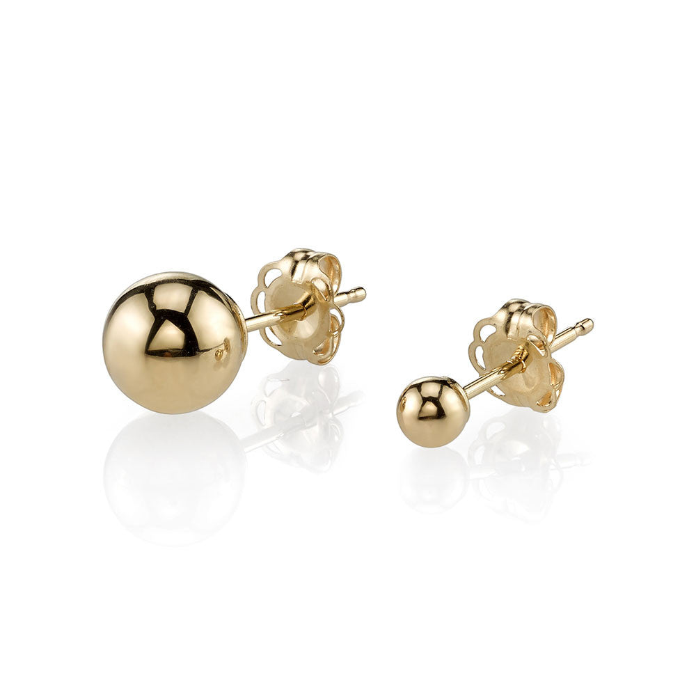 Gabriela Artigas Asymmetrical Orbit Earrings