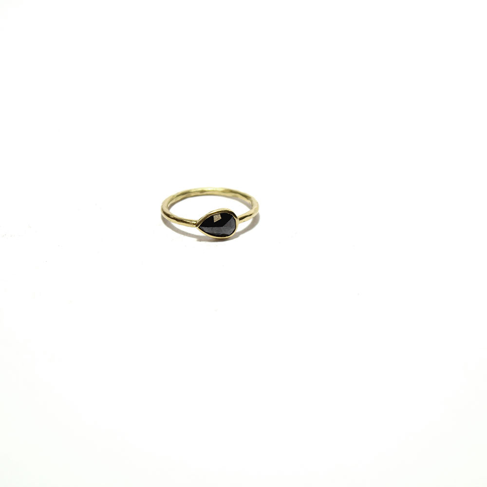 Gem Token Rose Cut Black Diamond