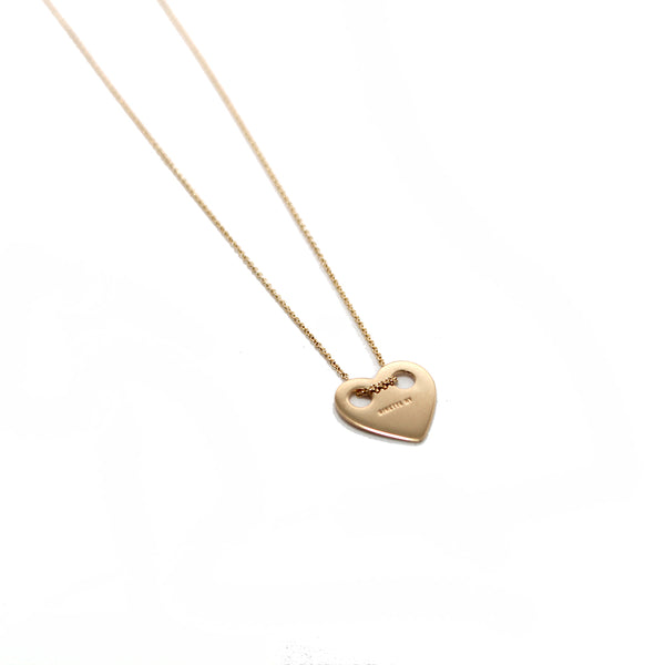 Ginette NY 18k Heart Necklace