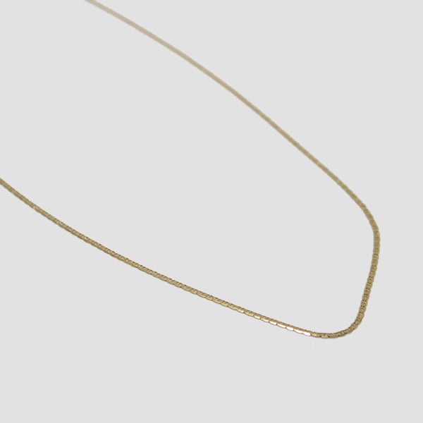 Gjenmi 14k Gold River Chain Necklace
