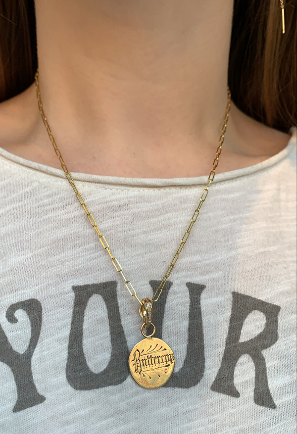 Heavenly Vices 'Buttercup' 14k Gold Love Token