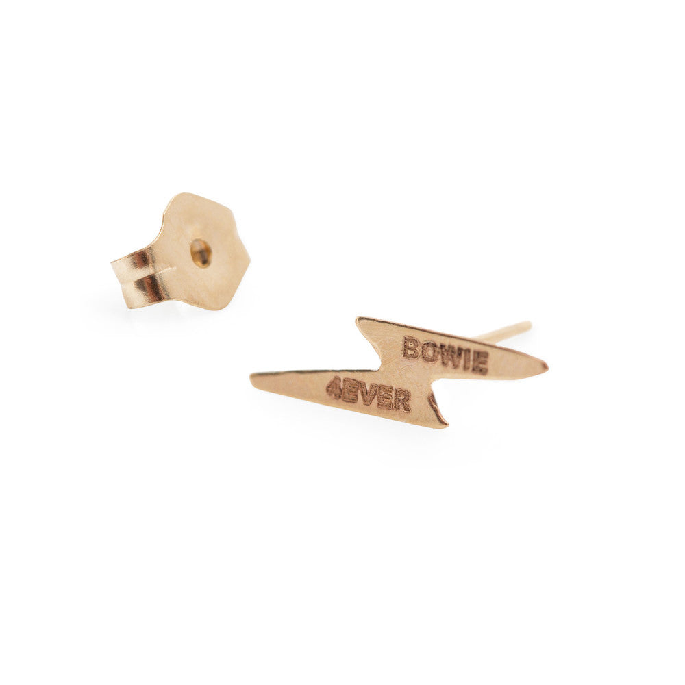 Hortense Jewelry Single Bowie 4ever Stud